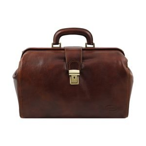 Leather doctor bag Fantini - Brown doctor bag