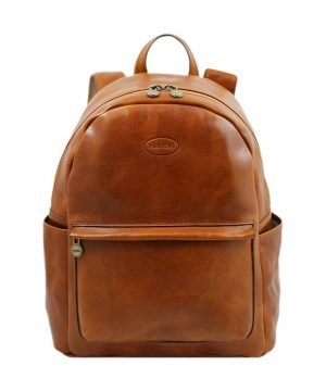 Leather Backpack for women - Leather Backpack - Fantini- leather rucksack for men.